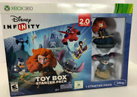 Disney Infinity 2.0 Toy Box Starter Pack XBOX 360 Brave Merida & Stitch Bundle