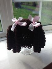 "Dark Brown ""Cabbage Patch"" Hat for 12 months Toddler . (NEW) Not The Pattern"