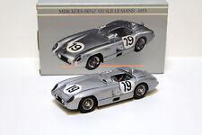 1:24 Minichamps Mercedes 300 SLR Le Mans 1955 #19 with box bei PREMIUM-MODELCARS