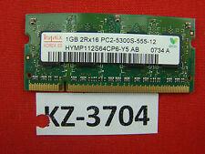 1gb Hynix HYMP 112s64cp6-y5 AB pc2-5300s-555-12 #kz-3704