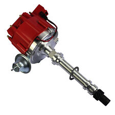 Red Cap For Chevy/gm Small Block Big Block 65k HEI Distributor High Performance