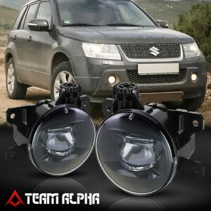 Fits 2006-2014 Suzuki Grand Vitara/SX4 [Clear] Projector Bumper Fog Light Lamp