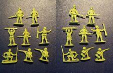 8 ANCIEN PETIT SOLDAT JAPONAIS FIGURINE MILITAIRE 2 GUERRE MONDIALE SECOND WAR