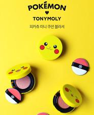[TONY MOLY] Pokemon Pikachu Mini Cushion Blusher Korean Cosmetics_03Peach Orange