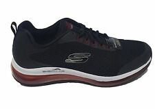 Skechers Skech Air elemento lomarc burbuja de aire Negro Rojo Zapatillas Zapatos