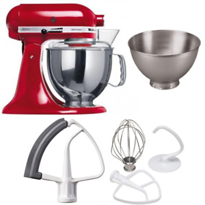 KitchenAid KSM175 5 Qt. 4.7 Liters Artisan Stand Mixer 220 Volts Export Only