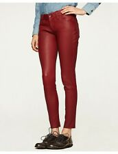 LUCKY BRAND CHARLIE SKINNY LEATHER PANTS NWT SIZE 0/25