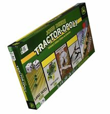 John Deere Tactor-Opoly Game, Tractor Board Game Collector's Edition