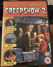 CREEPSHOW 2 DVD STEPHEN KING GEORGE A ROMERO OOP RARE CULT 3 STORIES HORROR