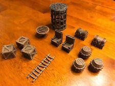 Dungeon Accessories Set 28mm Terrain Dungeons & Dragons Pathfinder d&d