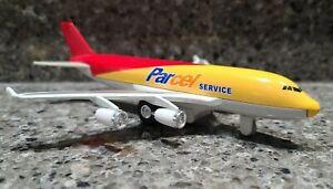 Daron Die-Cast Parcel Service Pull Back Airplane