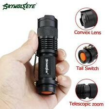Zoomable 10000 LM CREE LED Flashlight Torch Portable Clip Lamp Camping Light MT
