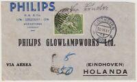 Air Mail cover - Uruguay - Holanda