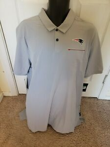 Men's Nike On Field New England Patriots Football Polo XL extra large Dry