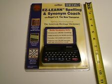 Seiko Ez Learn Spelling & Synonym Coach (Ed-1240) Electronic - New Sealed clean