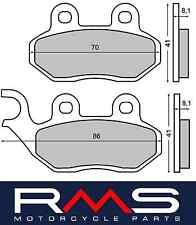 Coppia pastiglie freno anteriori/posteriori RMS 225102750 SYM