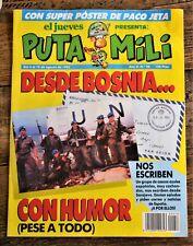 El Jueves - Puta Mili - Spanish Magazine Comic - #58 - 1993