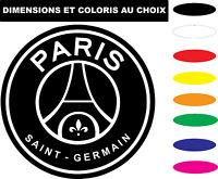 Sticker PSG Paris Saint Germain Autocollant Adhesif Véhicule Moto Biker Deco