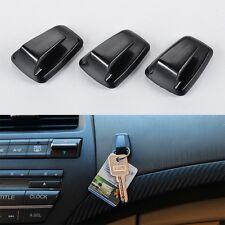 3 Ganci pinza per chiave di casa adesivo per opere cruscotto automobile