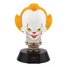 OFFICIAL STEPHEN KING PENNYWISE IT ICON 3D LED LIGHT MOOD NIGHT LAMP NEW