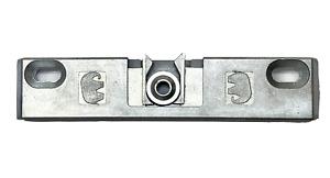Universal Türschnäpper, Balkontürschnäpper für Eurofalz inkl. Hülse