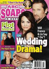 ABC Soaps In Depth Magazine - March 12, 2018 - Roger Howarth & Rebecca Herbst