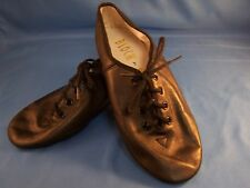 Dance Jazz Shoes by Bloch Black Tie Up Style Full Sole Size 4