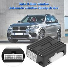 Black Auto Safety Power Window Roll Up Closer Module For Car Alarm 2 Door 12V