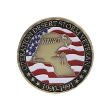 Kuwait Map Souvenir Commemorative Challenge Collection Coin Arts Gifts Alloy New