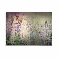 Art for the Home Bright Metallic Meadow Printed Canvas (Was £50)