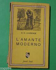 L'amante moderno - D. H. Lawrence - Prima Ed. Jandi Sapi 1945