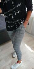 Samanta's quiosco Nuevo Moda Para mujeres Damas Niñas Pantalones De Tela Talla S