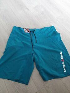 "crossfit mens reebok shorts board 35"" medium mens sports cross fit"