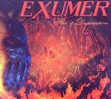 Exumer - Fire & Damnation LTD EDITION+3 BONUSTRACKS CD NEU OVP