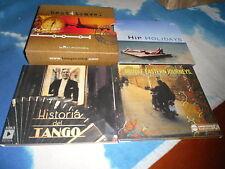 BEST4 TRAVEL CD BOX SET HIP HOLIDAYS/MIDDLE EASTERN JOURNEYS/HISTORIA DEL TANGO