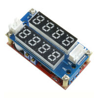 5A CC CV Step Down Charging Board Charge Module Adjustable LED Voltmeter Ammeter