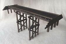 EH5220 Pile NG Trestle Wood Kit - 48'  2 Bay Bent 4 Leg - Sn3 Scale NIB
