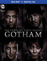 Gotham: The Complete First Season (Blu-ray Disc, 2015, 4-Disc Set, Includes Digi