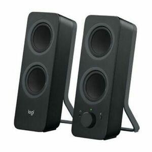 Logitech Z207 2.0 Multi Device 3.5mm Bluetooth Stereo Speakers 10 WATT Switching
