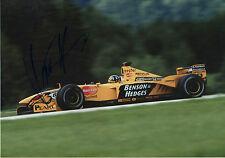 "Damon Hill ""Jordan"" Autogramm signed 20x30 cm Bild"