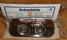 DDR   Hakenleiste mit Saugnäpfen Plaste VEB