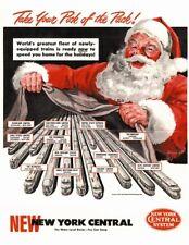 New York Central 20th Century Limited Coca Cola Santa?