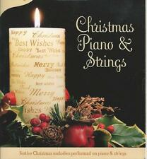 CHRISTMAS PIANO AND STRINGS HAPPY HOLIDAYS MELODIES MUSIC CD