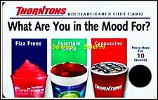 THORNTONS WHAT ARE YOU IN MOOD FOR? PRESS FOR 10 SECONDS COLLECTIBLE GIFT CARD