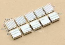 5pcs 14 x 14 x 6mm Heatsink with Adhesive Heat Sink Electronic Computer Cool RAM