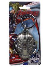 Avengers Age Of Ultron Gun Metal Keychain Keyring Marvel Comics Monogram New