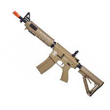 G&G Armament CM16 TAN MOD0 M4 Rifle AEG Airsoft Gun RIS Handguard Skeleton Stock