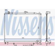 Kühler, Motorkühlung NISSENS 68181A