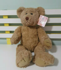 RUSS BERRIE TEDDY BEAR BEARS FROM THE PAST 40CM BROWN JOINTED