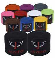 JAYEFO BOXING MMA HANDWRAPS 180 INCHES 4.5 METERS KICK MUAY THAI WRAPS BANDAGES